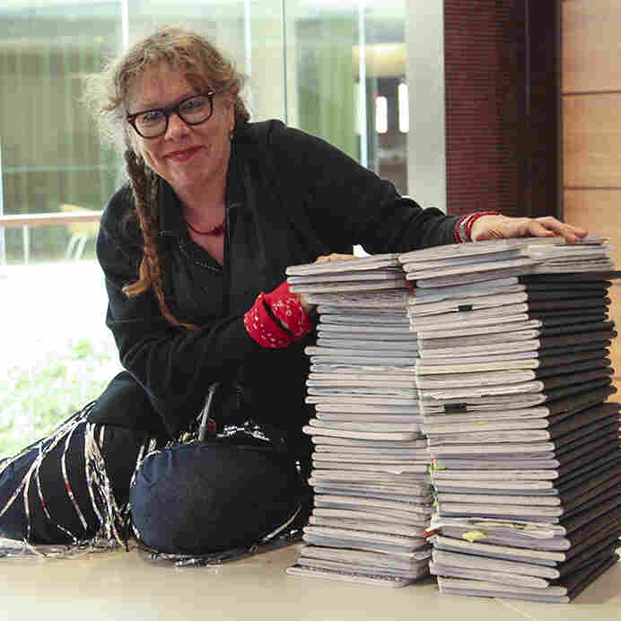 Cartoonist Lynda Barry Helps College Students Tap Innate Creativity