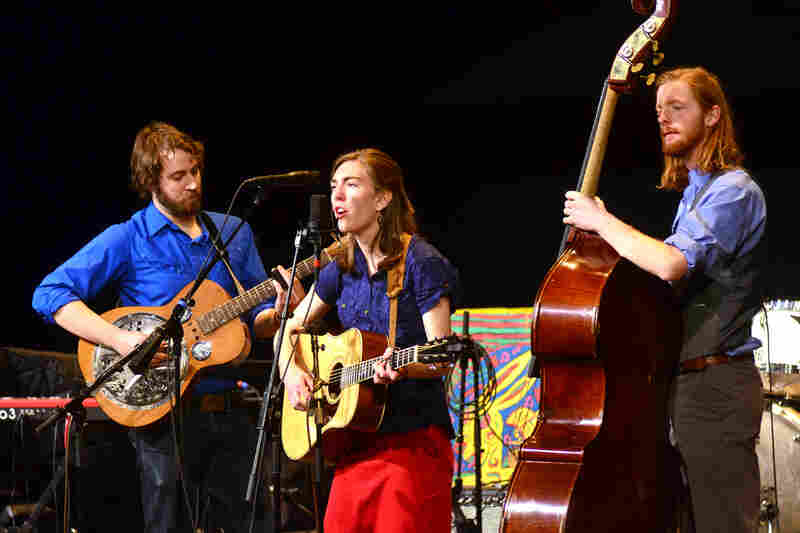 The Stray Birds' members make their first appearance on Mountain Stage, recorded live on the campus of West Virginia College in Buckhannon.