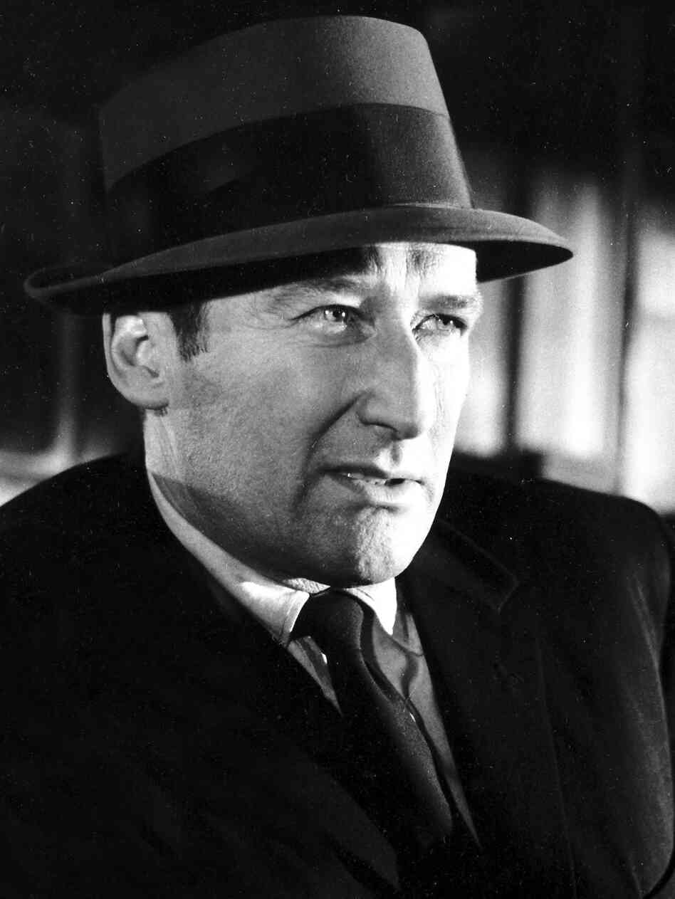 Mickey Spillane, pictured here in 1963, wrote his first Mike Hammer novel in three fevered weeks after returning from World War II.