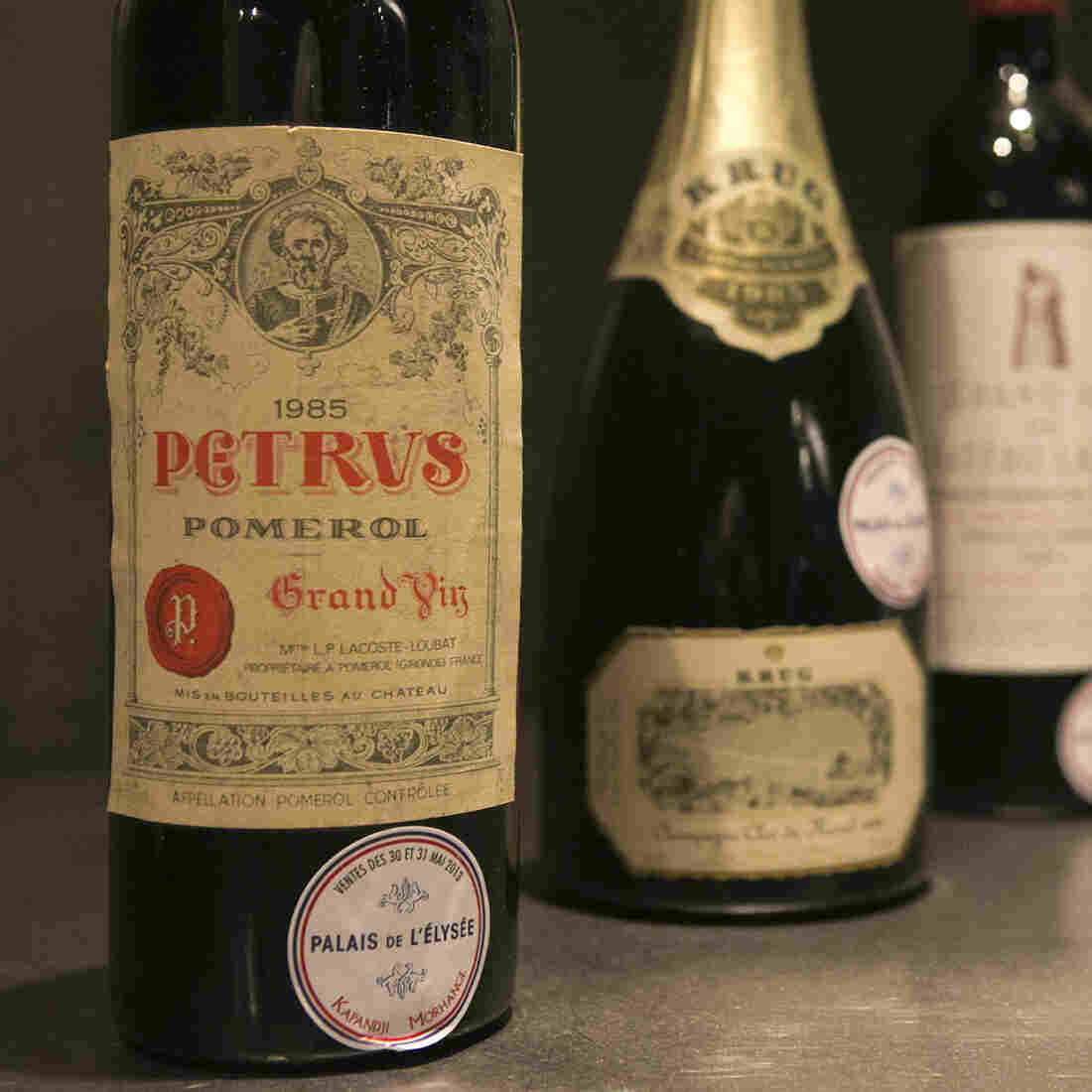 France Sells Presidential Wines To Update Palace Wine Cellar
