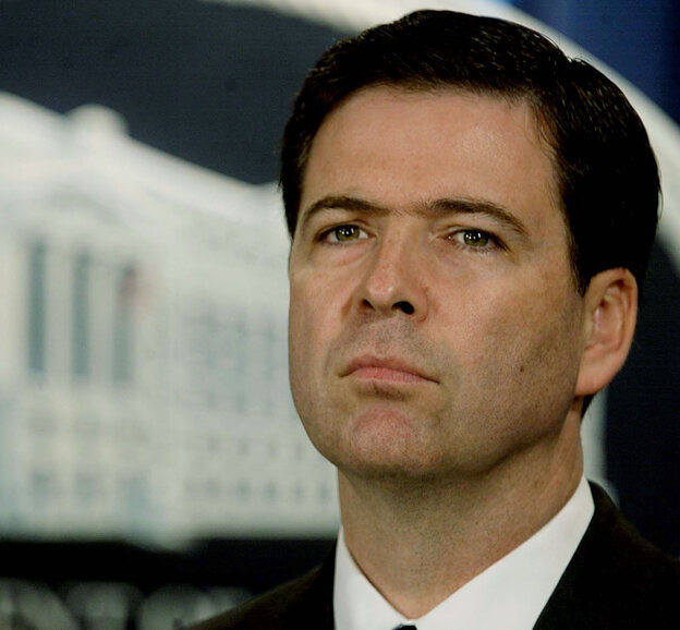President Obama is expected to nominate James Comey, seen in 2004, to be the next director of the FBI.