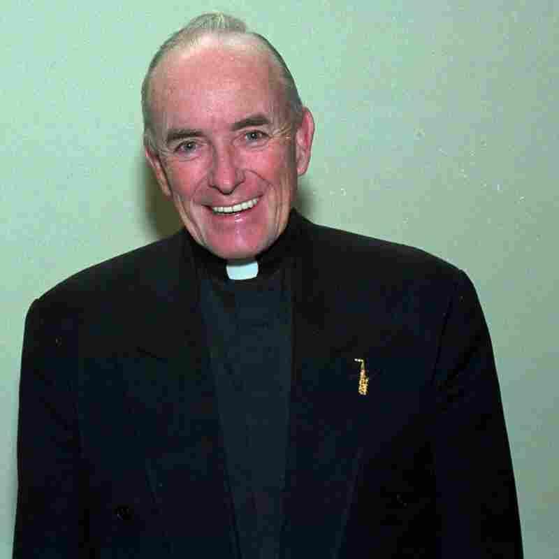 Rev. Andrew Greeley in 1992.
