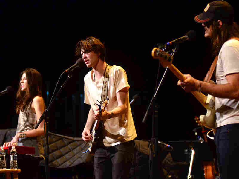 The folk-rock band Houndmouth makes its first appearance on Mountain Stage, recorded live on the campus of West Virginia Wesleyan College in Buckhannon.