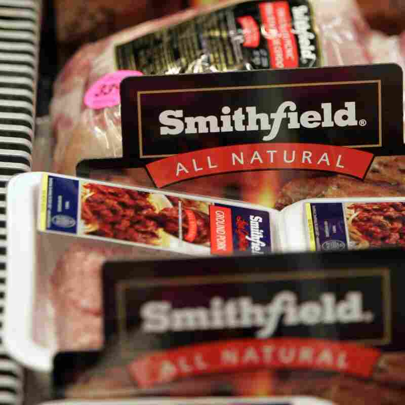 Smithfield Foods, makers of ham products under a variety of brand names, is being purchased by Chinese food maker Shuanghui International for $4.72 billion.