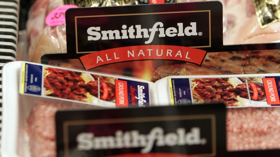 Smithfield Foods, makers of ham products under a variety of brand names, is being purchased by Chinese food maker Shuanghui International for $4.72 billion. (AP)