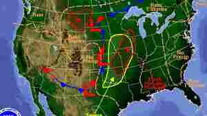 Tornadoes, Severe Storms Again Forecast For U.S. Midsection