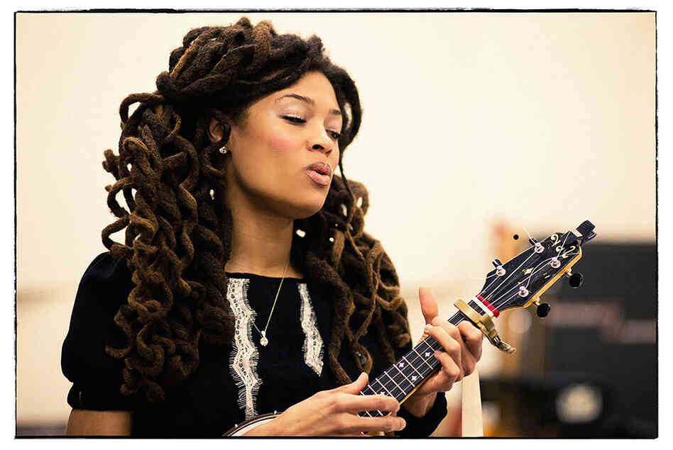 Valerie June's first album, Pushin' Against A Stone, will be out in August.