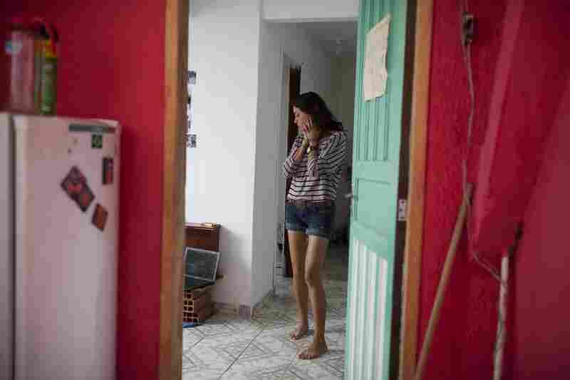 Kate Steiker-Ginzberg, 23, of Philadelphia, rents a one-bedroom apartment in Vidigal, a favela in the South Zone of Rio de Janeiro. She pays $600 reals a month (about $300), which includes utilities.