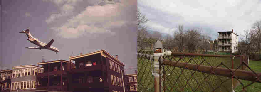 East Boston, Mass., in 1973 (left) and in 2012.
