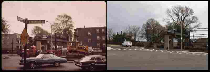 East Boston, Mass., in 1973 and 2012 by Michael P. Manheim