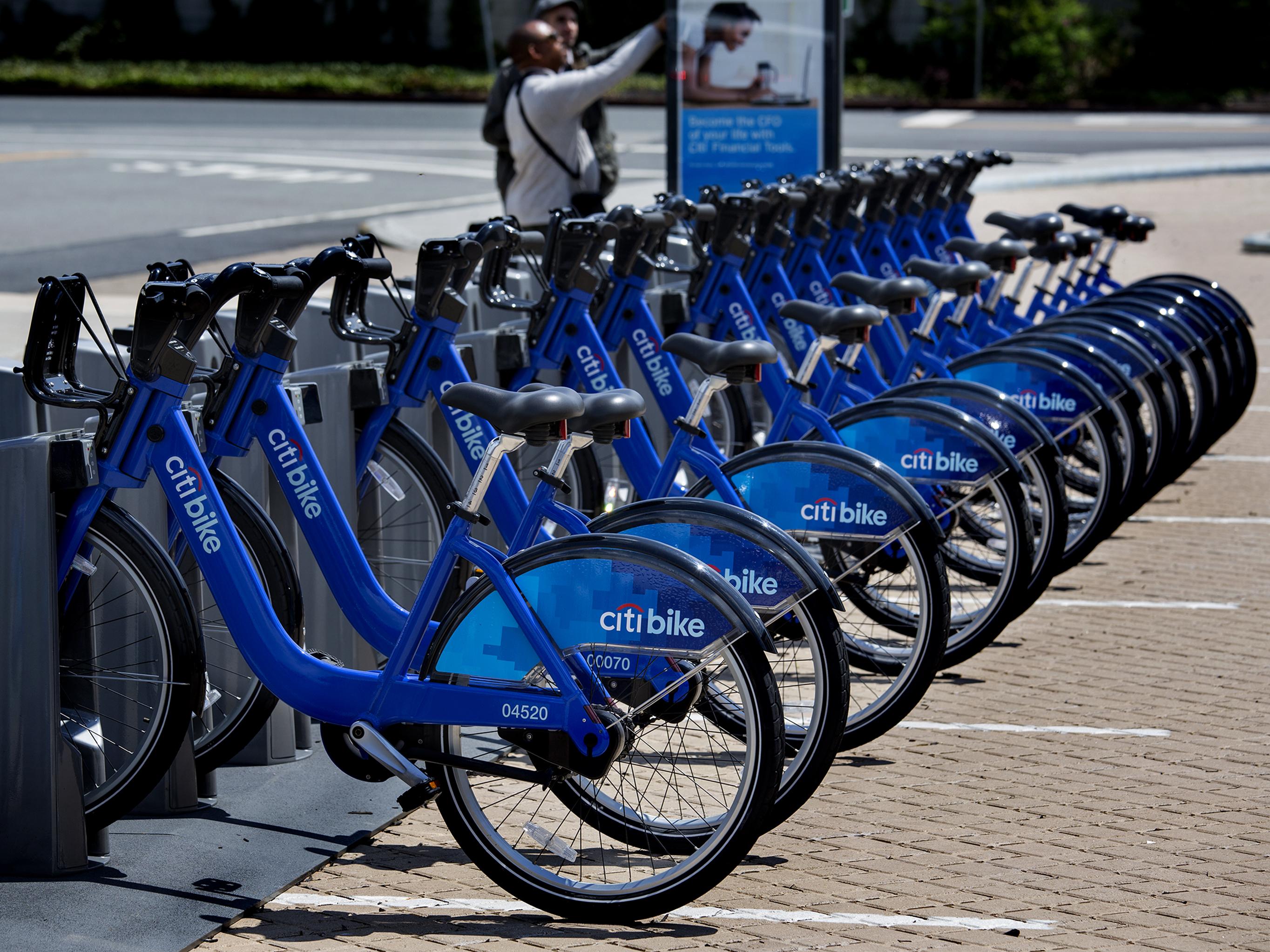 Bike-Sharing Programs Roll Into Cities Across The U.S.