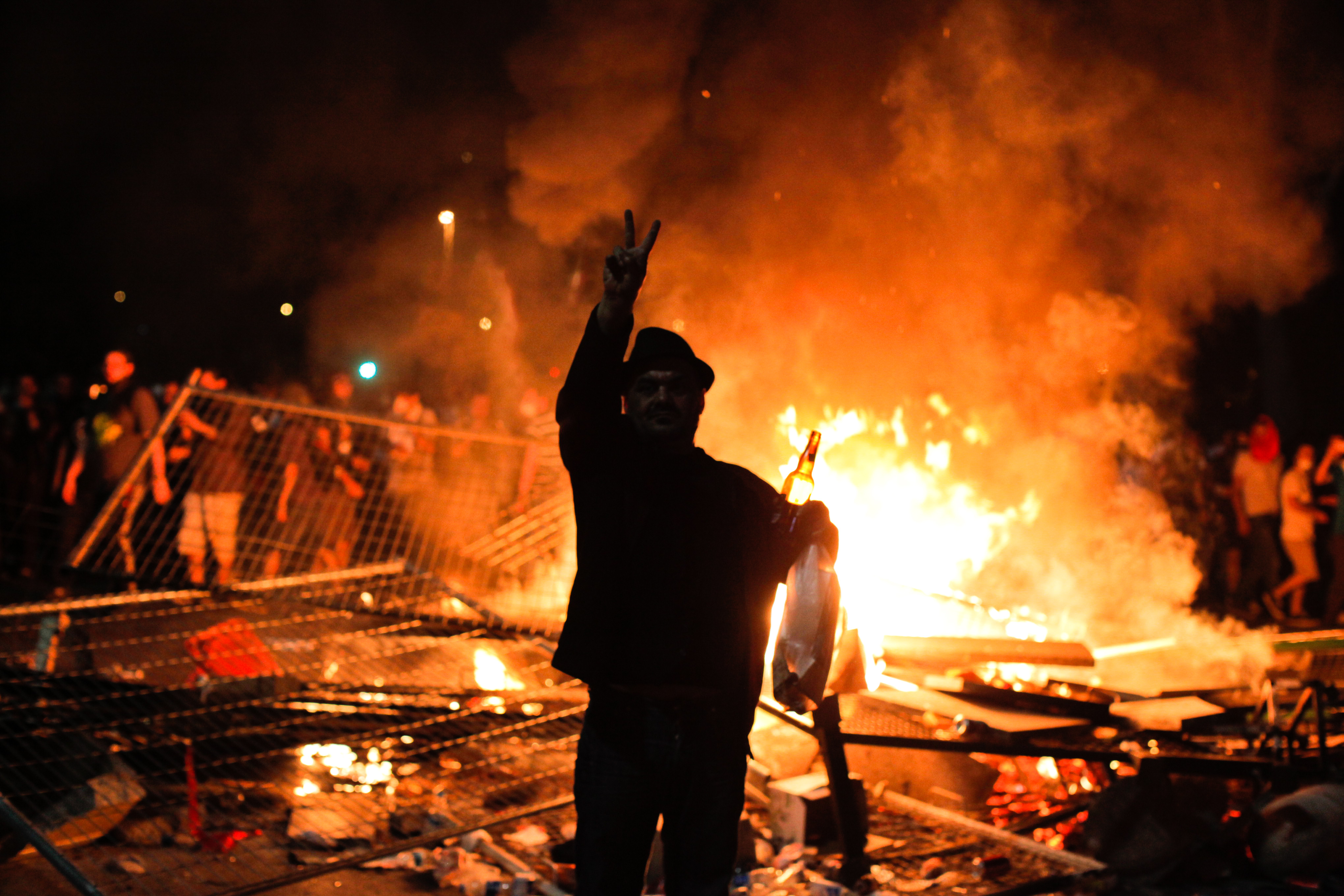 After Two Violent Days, Protesters In Turkey Return