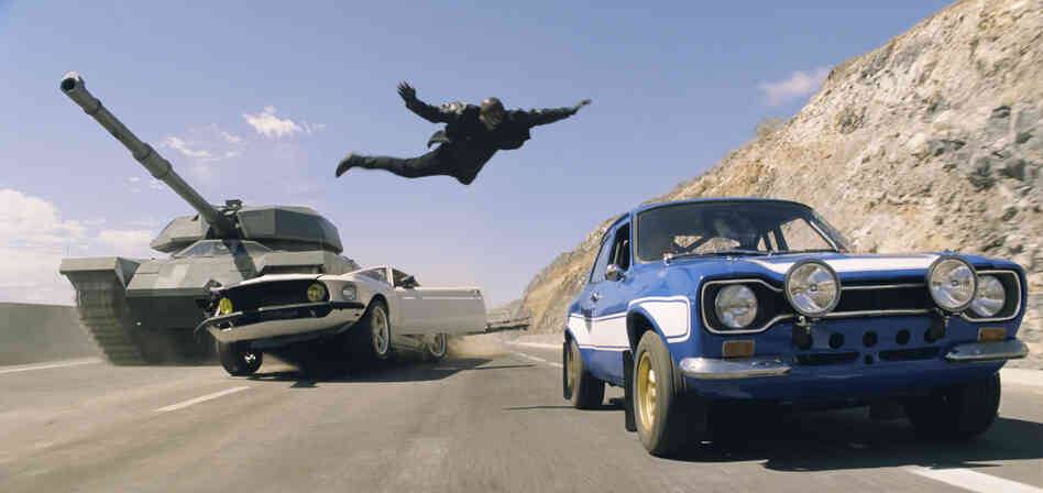 Things get pretty dicey in Fast & Furious 6, even when the good guys are winning.