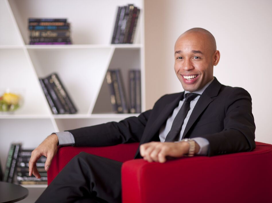 Pianist Aaron Diehl performs on Cecile McLorin Salvant's new album. (Courtesy of the artist)