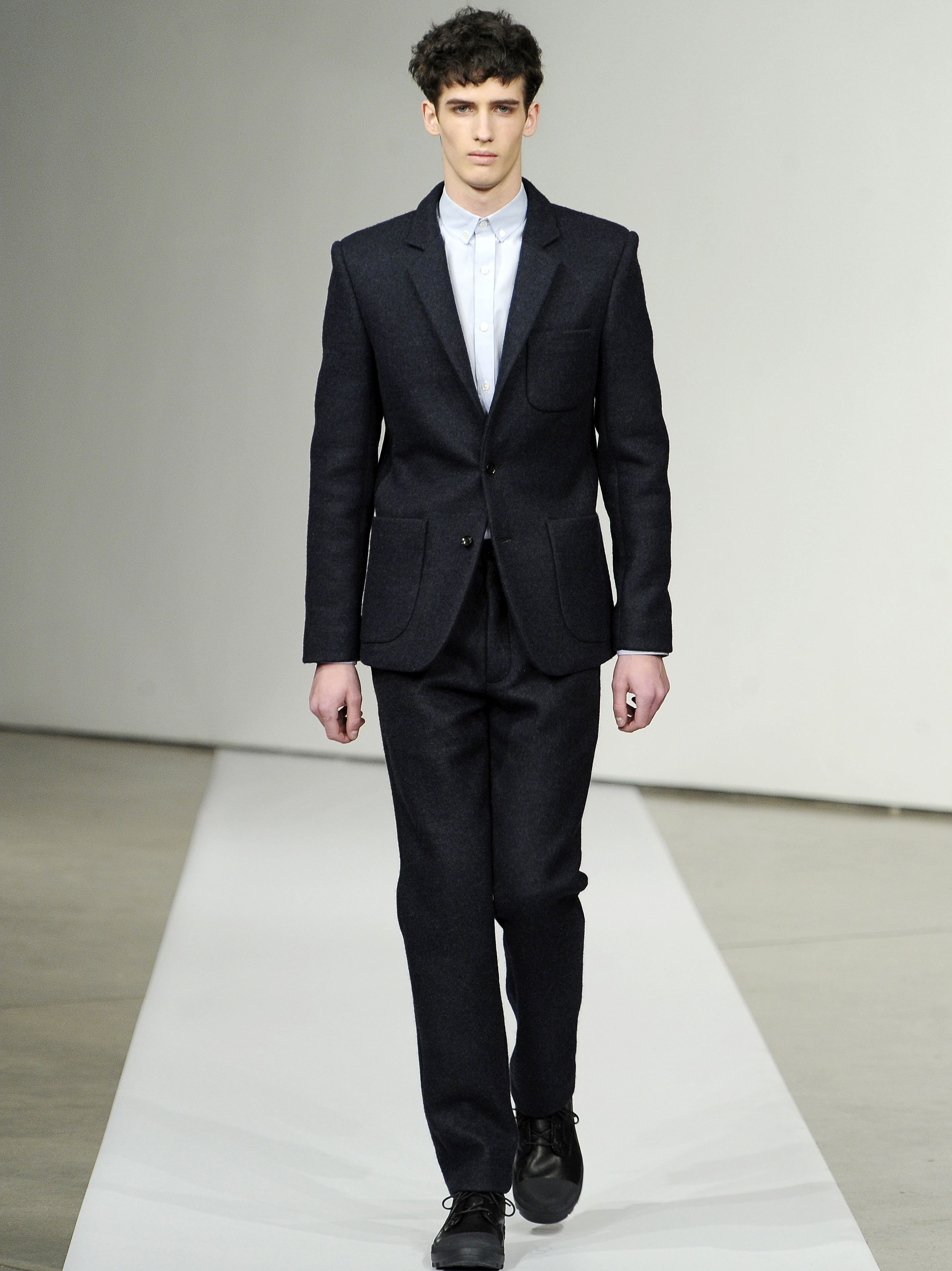 The Patrik Ervell Fall 2012 Collection Showed Suits Without Ties For New York Fashion Week Image Ap