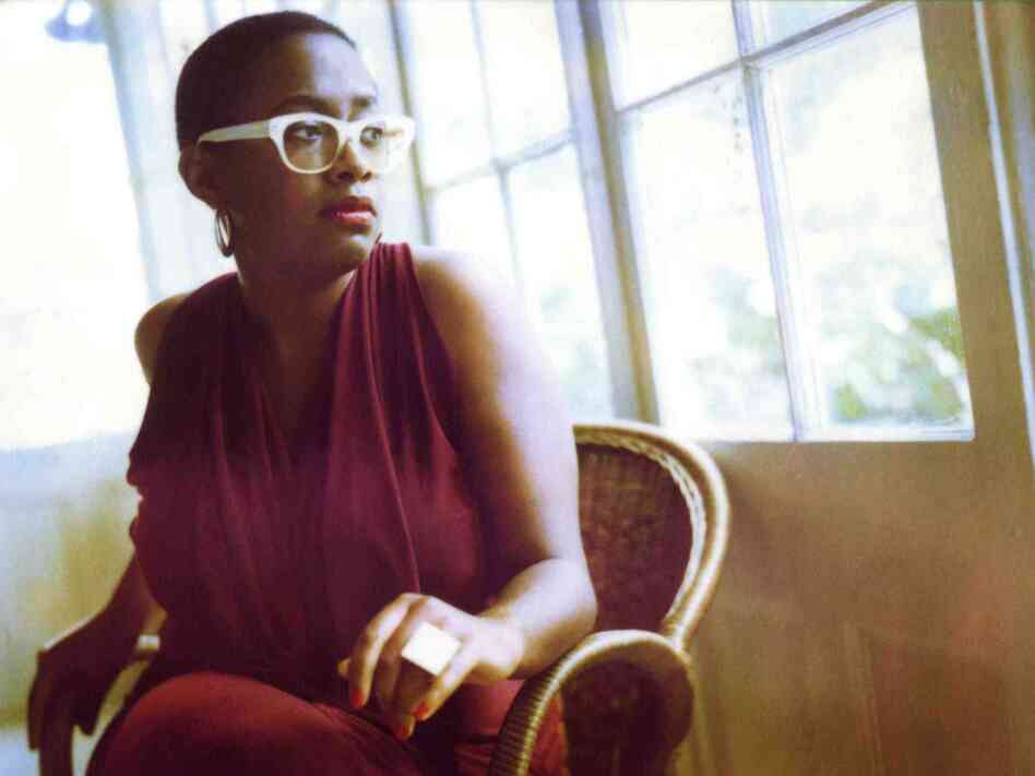 Cecile McLorin Salvant's new album is titled WomanChild.