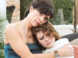 Amy Pietz and Tracey Fairaway as Dawn and Kayla.