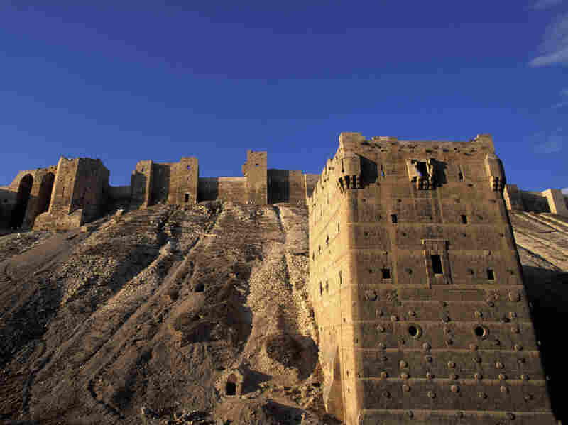 Fierce fighting has been reported between President Bashar Assad's forces and rebels around the ancient citadel in Aleppo.
