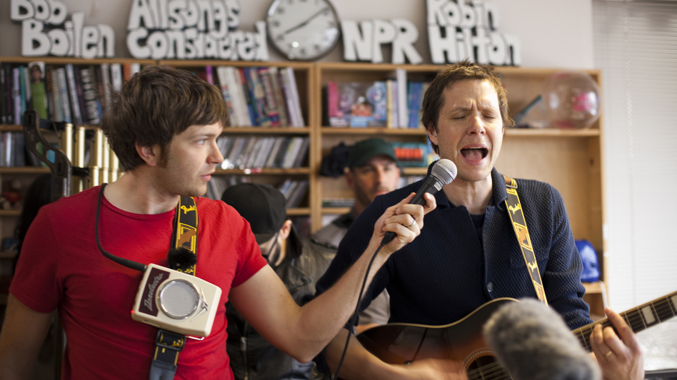 OK Go performs a special Tiny Desk Concert. (NPR)