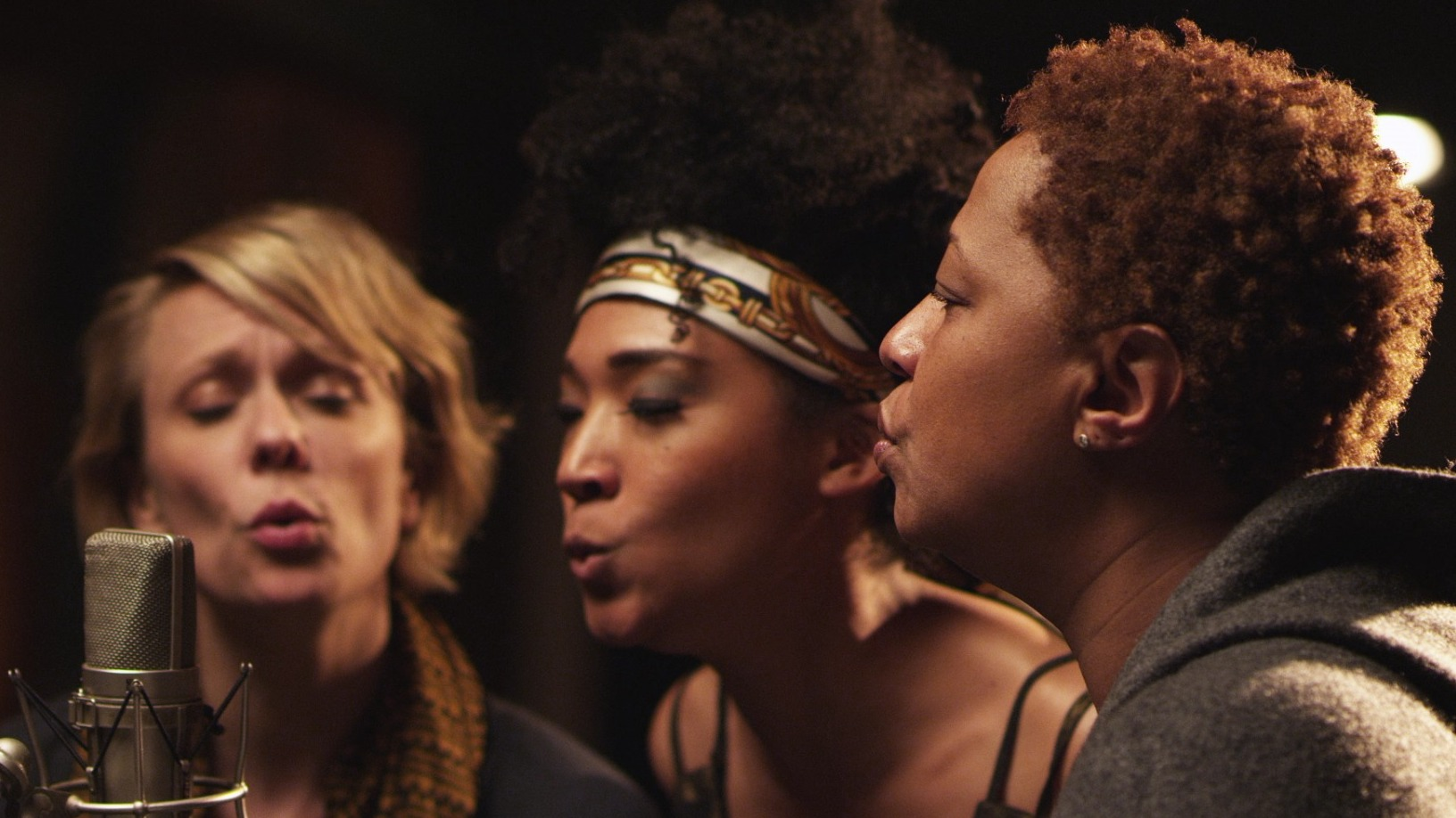 Jo Lawry, Judith Hill and Lisa Fischer are three of the backup singers profiled in the new documentary 20 Feet From Stardom.