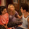 Cierra Ramirez, Teri Polo, and Jake T. Austin star in ABC Family's The Fosters.