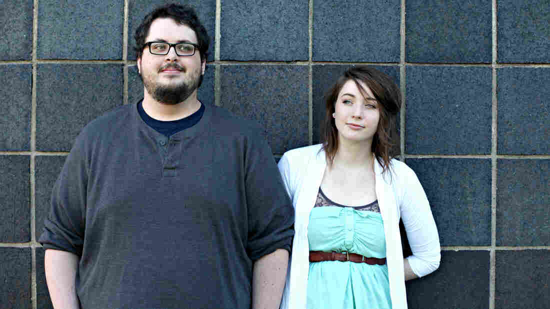 Tyler and Maggie Heath of the Texas band The Oh Hellos.