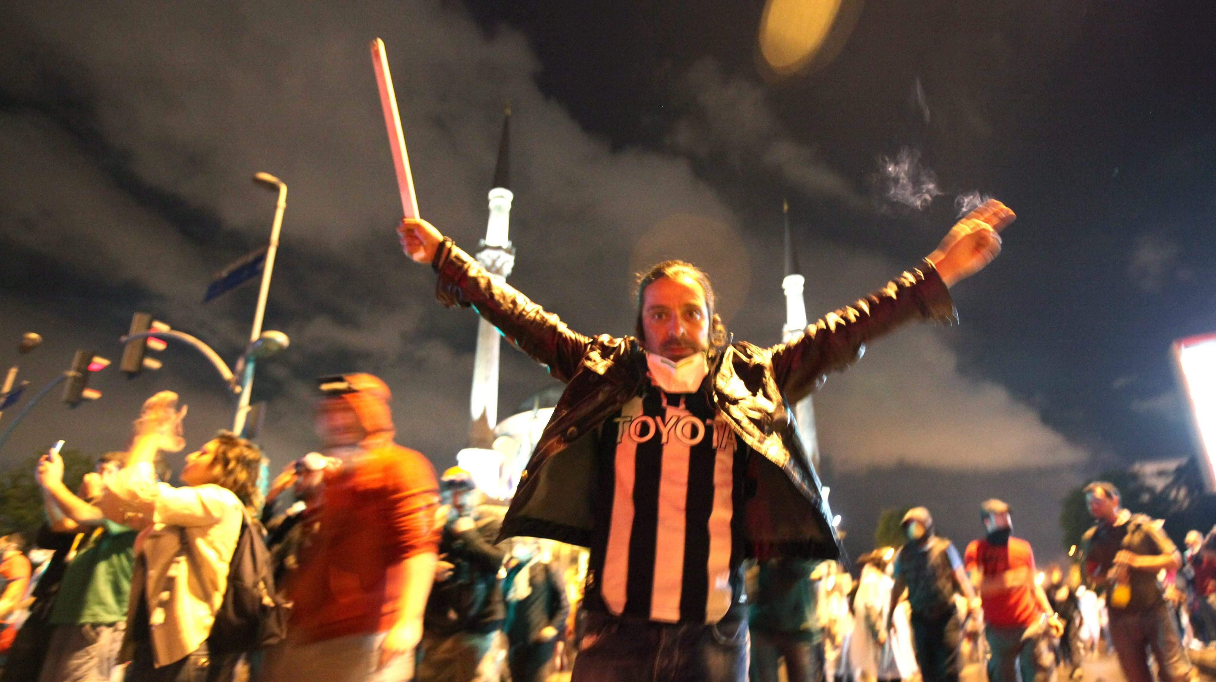 In Turkey, Protesters Say Prime Minister Has Gone Too Far