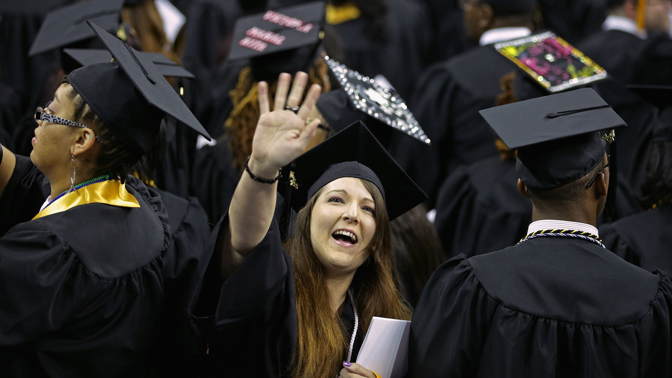 Jobs Outlook Is Brighter For Class Of 2013