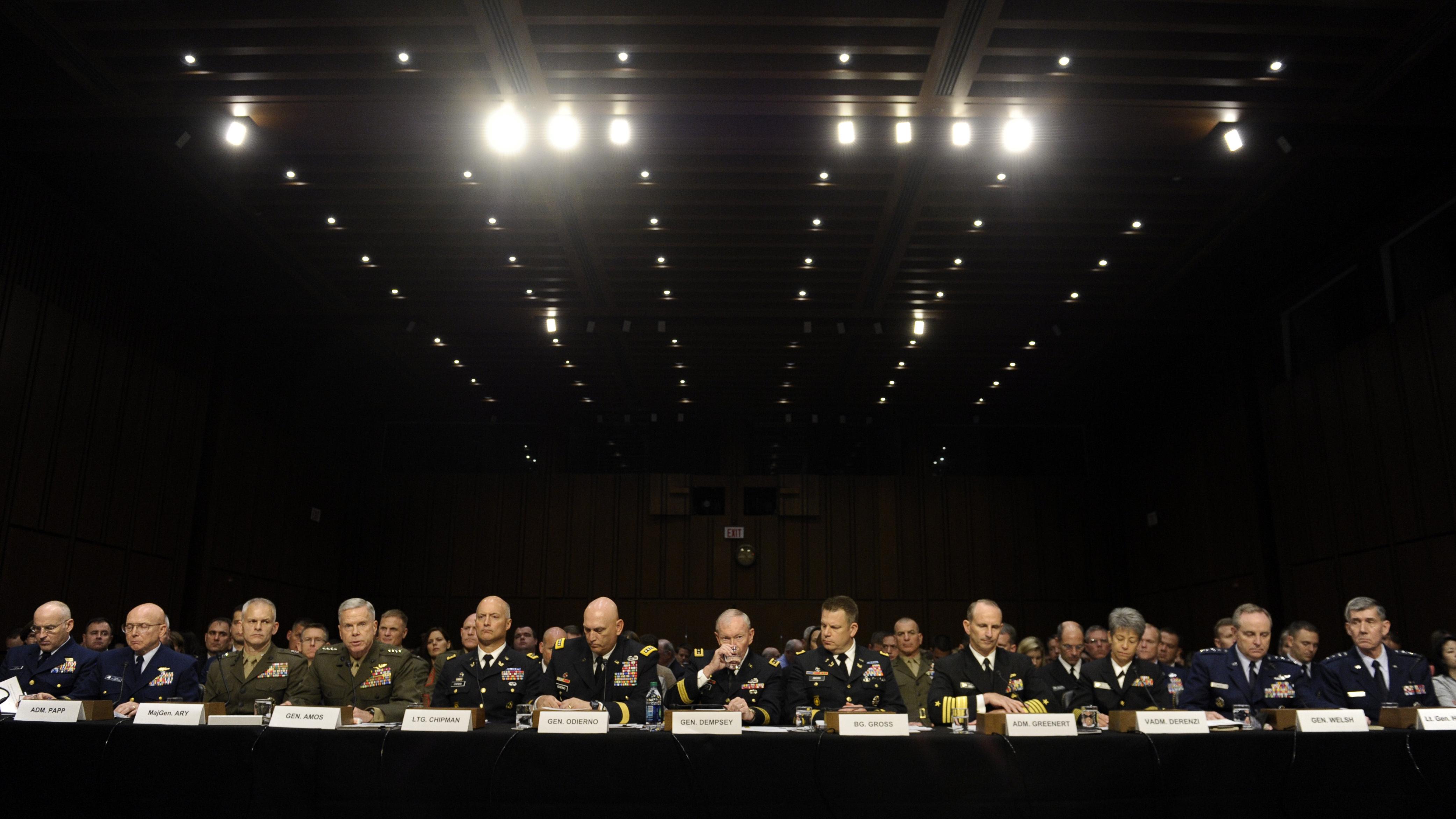 4 Big Players Emerge In Military Sexual Assault Debate