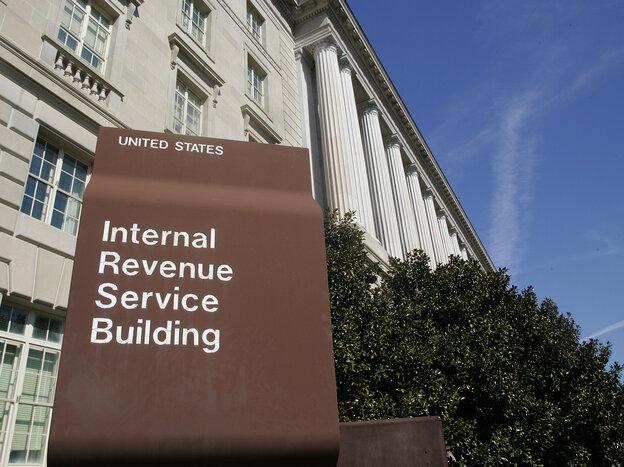 The Internal Revenue Service headquarter