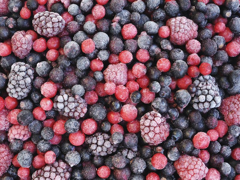 Image result for frozen berries