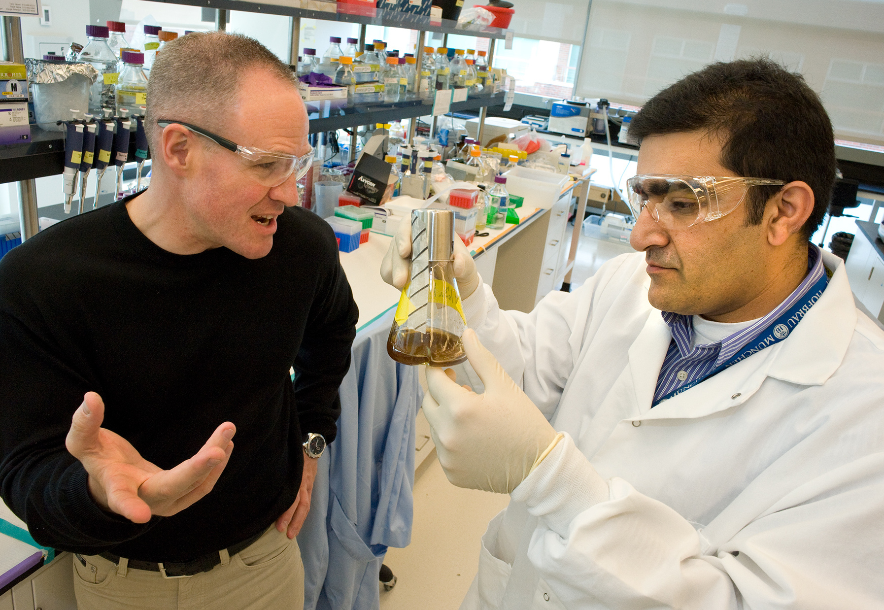 Put Down Oil Drill, Pick Up The Test Tube: Making Fuel From Yeast