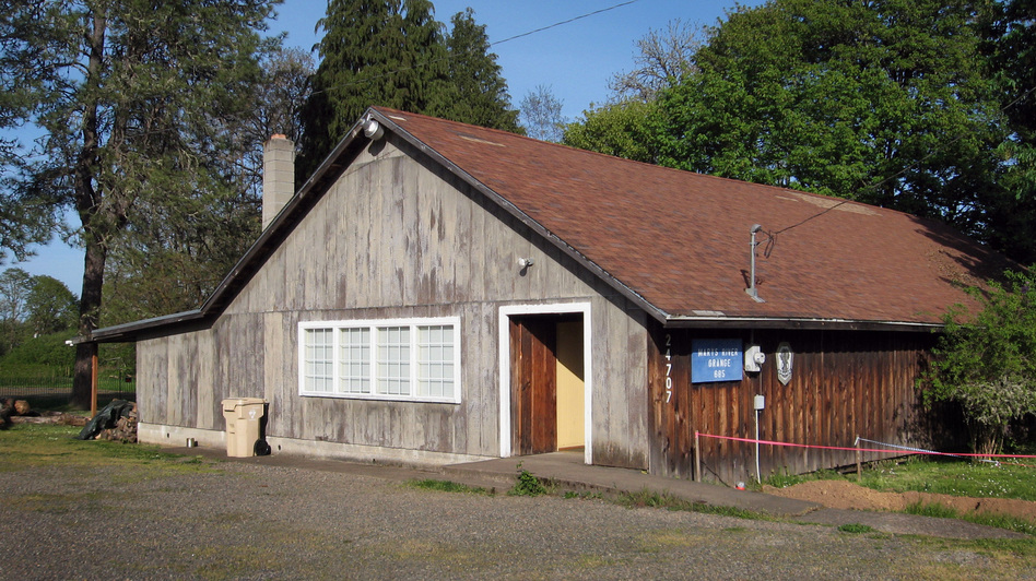 The Marys River Grange Hall near Philomath, Ore., was established in 1933. In 2009, a few remaining members were preparing to vote to shut the Grange down. But word spread and a group of new members interested in local and organic agriculture joined and have kept the hall operating.