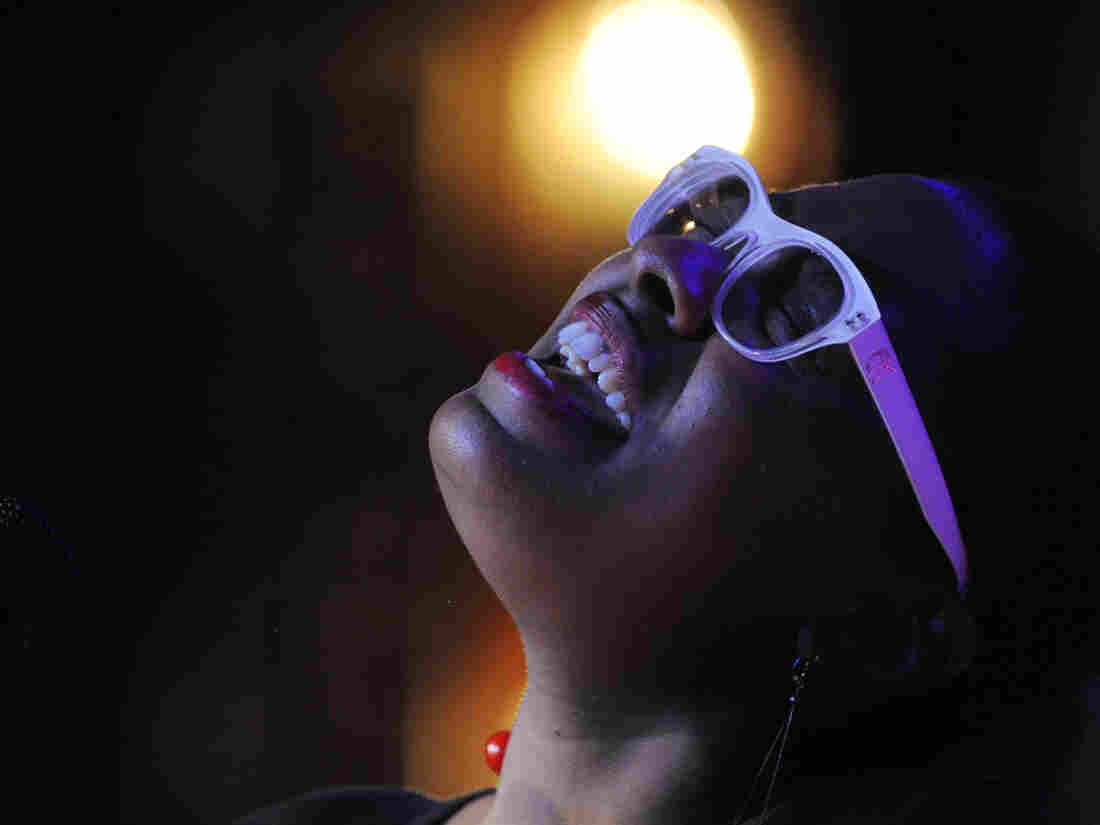 Miami-born Cécile McLorin Salvant learned about improvisation and sang with her first band after moving to France in 2007.