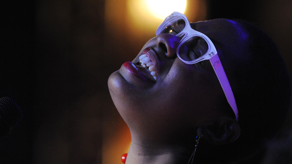 Miami-born Cécile McLorin Salvant learned about improvisation and sang with her first band after moving to France in 2007. (Courtesy of the artist)