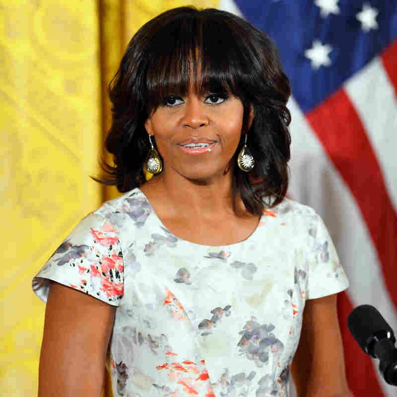 First Lady Michelle Obama at the White House on May 9.