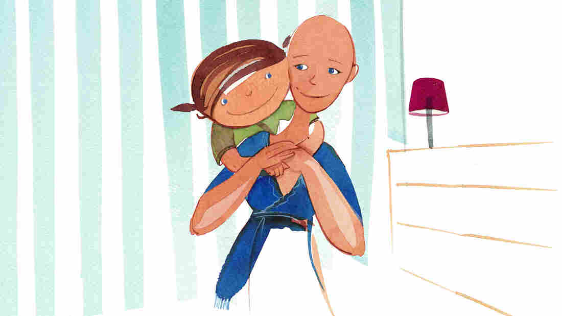 Sue Glader wrote Nowhere Hair after finding that many children's books about cancer were too depressing or scary.