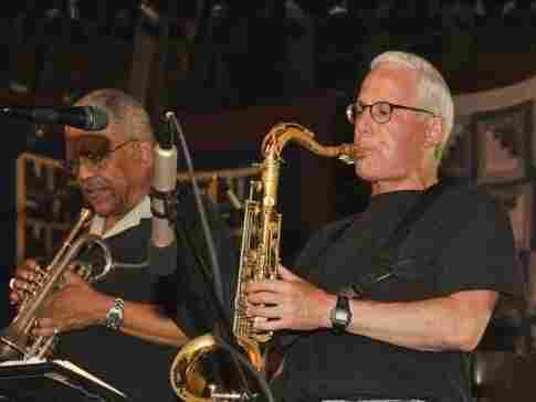 Rich Halley and his quartet play with Bobby Bradford at the Penofin Jazz Festival.