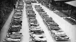 Children with tuberculosis sleep outside at Springfield House Open Air School in London in 1932. Like sanatoriums, these schools offered TB sufferers a place to receive the top treatment of the day: fresh air and sunshine.