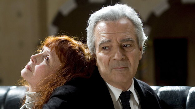 Sabine Azema (left) and Pierre Arditi are two of the veteran actors drawn into a convoluted retelling — and reimagining — of the Orpheus and Eurydice story in Alain Resnais' You Ain't Seen Nothin' Yet.