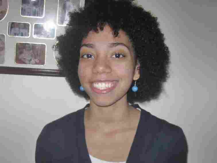 High school senior Elaine Vilorio wrote that she started seriously contemplating her blackness when she stopped straightening her hair.