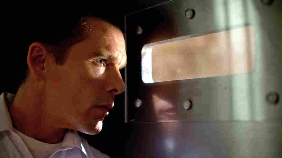 """Ethan Hawke's security consultant barricades himself in his home for the annual """"purge"""" that keeps the grimmer elements of society in check in James DeMonaco's dystopian thriller."""
