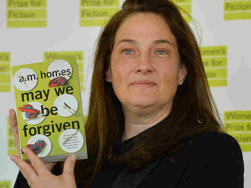 A.M. Homes, author of May We Be Forgiven, poses prior to Wednesday's awards ceremony for