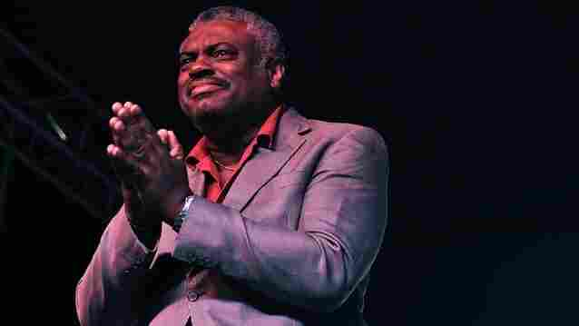 Mulgrew Miller at the Detroit Jazz Festival.