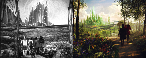 The 1939 film The Wizard Of Oz was rated G. The 2013 film Oz the Great and Powerful was rated PG. The difference? Maybe a little violence and a womanizing leading man.