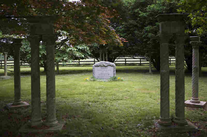 Former thoroughbred champion Kelso is buried at Woodstock Farm. Kelso had an active  second career after retiring from the racetrack, but many former racehorses end up at slaughterhouses.