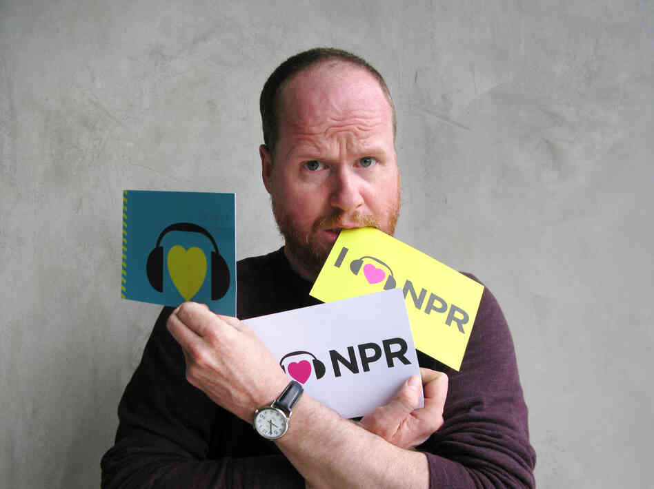 Joss Whedon at NPR West.