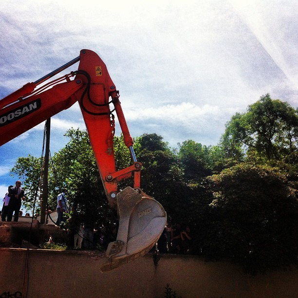 Instagrammer @erginiriz posted this photo from Gezi Park in Istanbul on May 28.