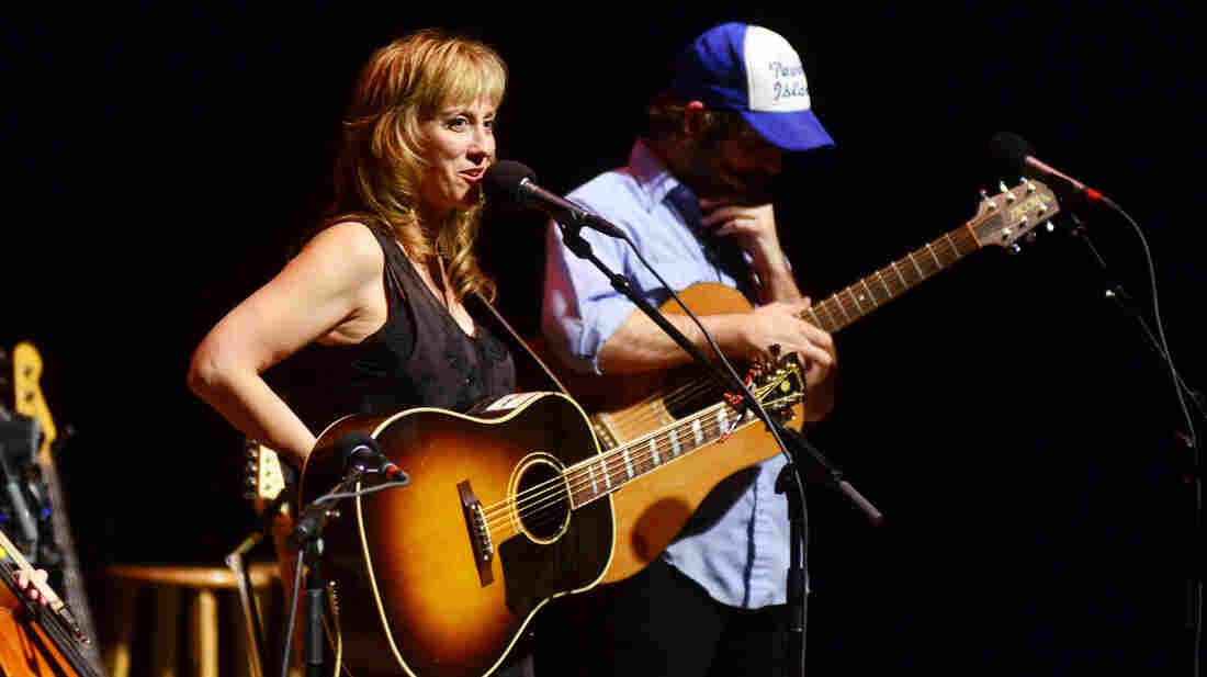 Amy Speace performs on Mountain Stage.