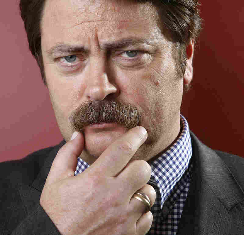 Actor Nick Offerman.